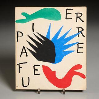 [Henri Matisse] Pierre a Feu, 1947, w/lithographs