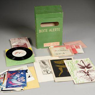 Marcel Duchamp, Boite Alerte: Missives Lascives