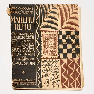 [Gauguin] Marehurehu...O-Tahiti, 1925, #344/525