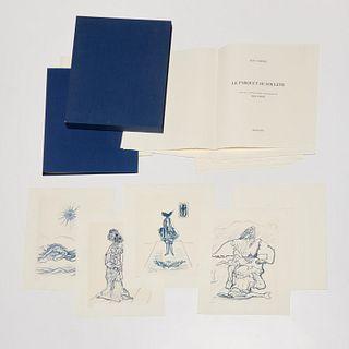 Max Ernst, Le Parquet Se Souleve, signed