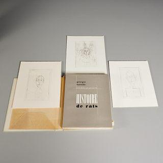 [Alberto Giacometti] Batailles, Histoire de Rats
