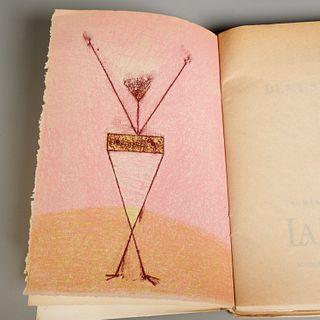 [Max Ernst] Almanach Surrealiste, signed