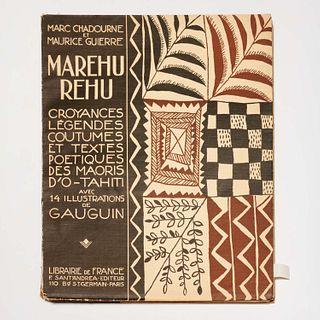 [Gauguin] Marehurehu...O-Tahiti, 1925, #142/525