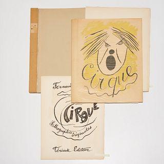 Fernand Leger, Le Cirque, signed