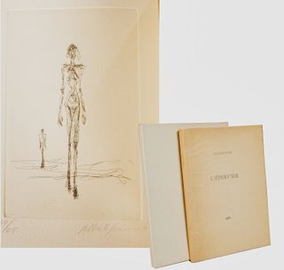 [Alberto Giacometti] Jacques Dupin,