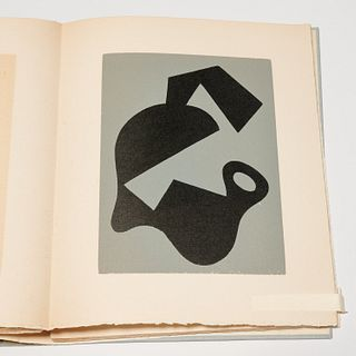 Jean Arp, Dreams and Projects, signed