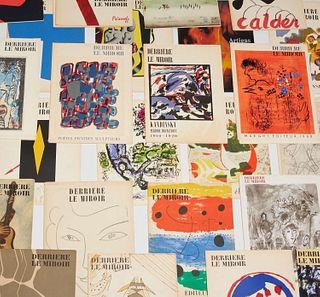 Derriere le Miroir, 1949-1977, (35) issues