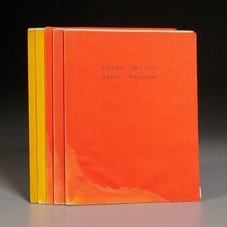Reperes, (5) vols. incl. Marcel Duchamp