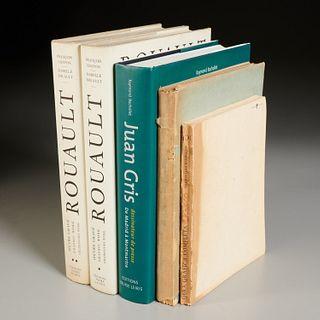 Catalogues Raisonne: Rouault, Gris, Pascin, Orazco