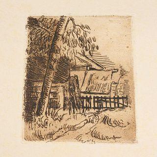 Cezanne, Bernheim-Jeune, w/ original etching