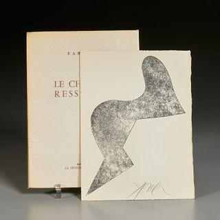 [Jean Arp] Le Chemin Resserre, 1966, signed
