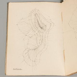 [Hans Bellmer] Mon Arrestation, signed engraving