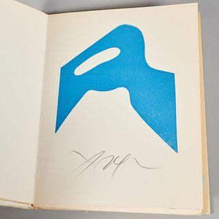 """Gaston Puel, """"Arp"""", 4 signed linocuts in color"""