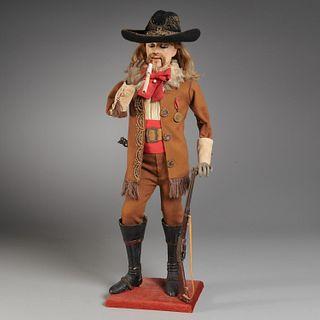 Gustave Vichy Buffalo Bill smoker automaton