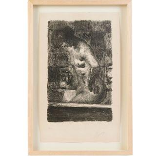 Pierre Bonnard, lithograph, 1925