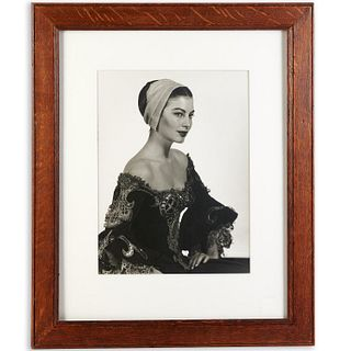 Man Ray, Ava Gardner in Costume, 1950