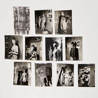 Man Ray, (10) surrealist photographs, 1938/1966