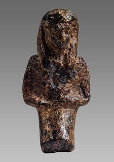 Ancient EGYPTIAN Amber Figure of Osiris c.665-525 BCE.