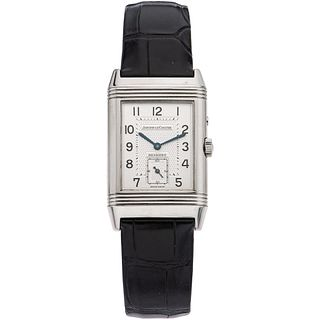 JAEGER-LECOULTRE REVERSO DUO FACE. STEEL