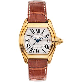 CARTIER ROADSTER. 18K YELLOW GOLD REF. 2524