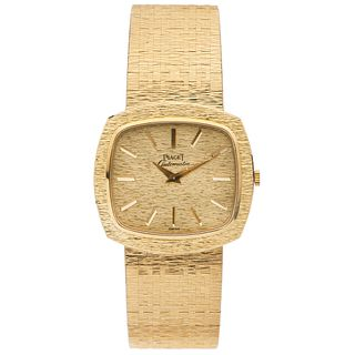 PIAGET. 18K YELLOW GOLD REF. 12431 A6