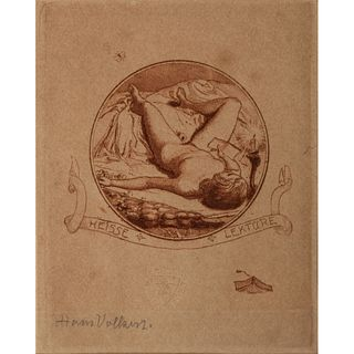 Two Etchings by Hans Volkert and Jackson Simpson