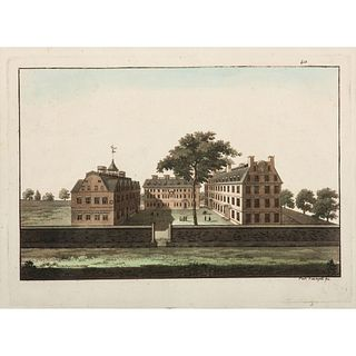 A Harvard Hand-Colored Etching and Magdeburg Engraving