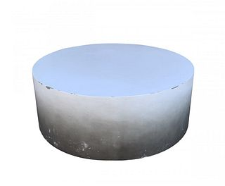 Drum Round Coffee Table made by FOUR HANDS