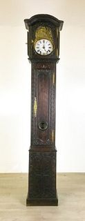 French Morbier Tall Case Clock