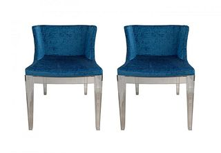 2  Mademoiselle Chairs By Philippe Starck For Kartell