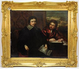 17C Titian School English Mannerism Painting