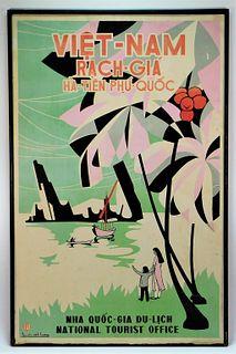 Nguyen Minh Hoang Rach Gia Vietnam Travel Poster