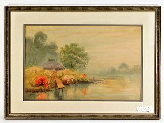 T. Masamitsu Japanese Asiatic Landscape Painting
