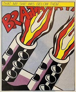Roy Lichtenstein -As I open Fire- Stedelijk Museum 1964
