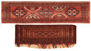 Set of an Antique Tekke Torba and Chador Torba , Turkmenista