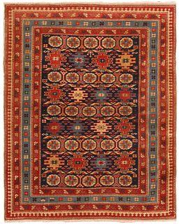 Antique Caucasian Chi-Chi- rug, 2 ft 9 in x 3 ft 4 in