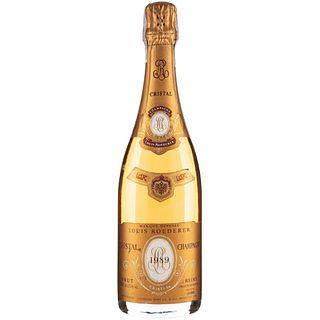 Cristal Champagne. Cosecha 1989 Louis Roederer. Brut. Reims. France. Calificación: 92 / 100.