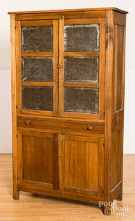 Poplar pie safe, late 19th c.