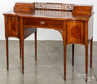 Ladies mahogany writing desk