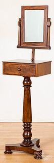 Classical mahogany shaving stand
