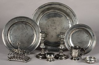 English and American pewter