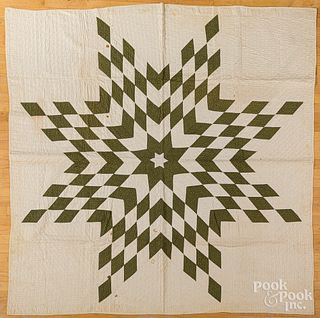 Bethlehem Star quilt, late 19th c.