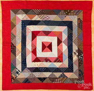 Concentric square quilt