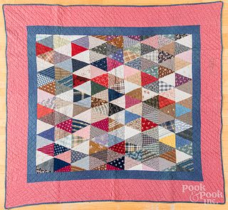 Two pieced quilts
