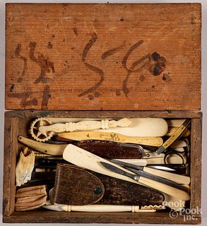 Bone instruments, etc.