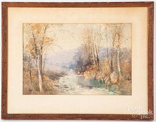 Robert Shaw watercolor landscape
