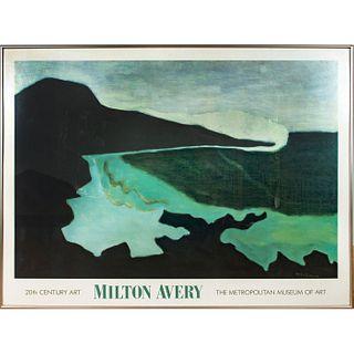 Framed Milton Avery Museum Art Poster