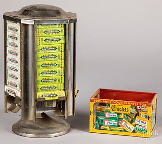 Wrigley's Gum rotating counter top store display