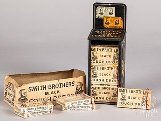 Smith Brothers Cough Drops tin store display