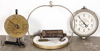 Landers, Frary & Clark country store hanging scale